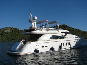jachta prenajom chorvatsko